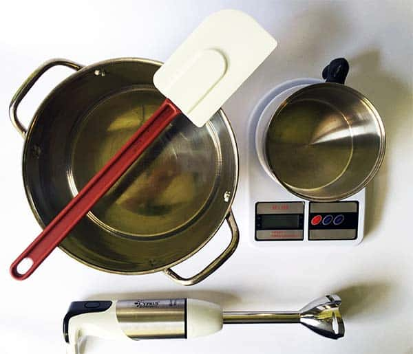 alat untuk membuat sabun mandi