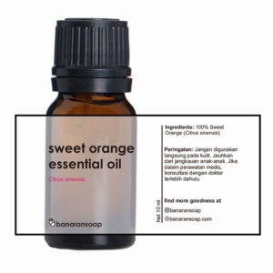 kemasan sweet orange essential oil 10ml