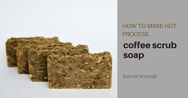 cara membuat sabun kopi