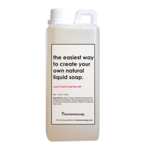 kemasan liquid soap base medium foam 1 liter