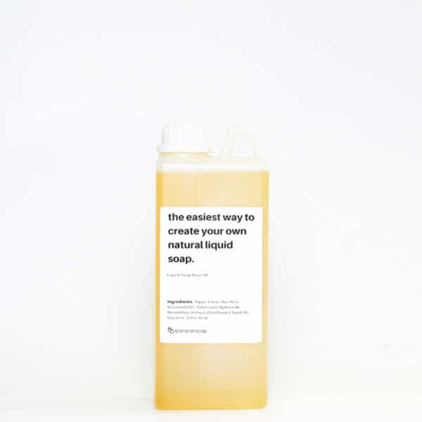 liquid soap base high foam 1 liter