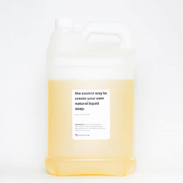 liquid soap base high foam 5 liter