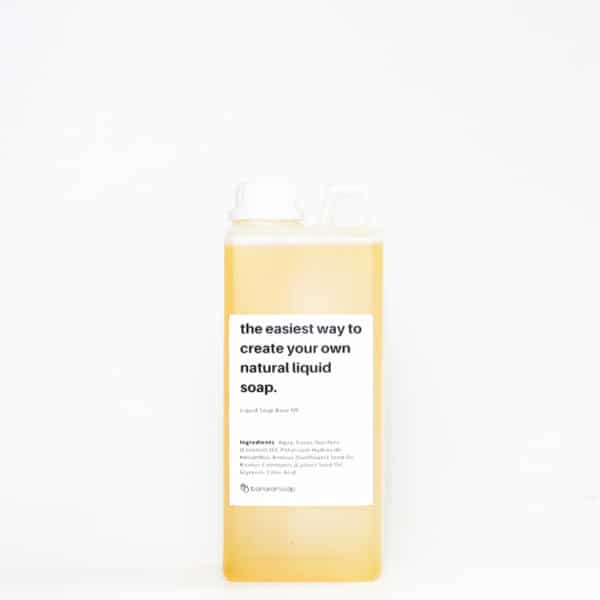 liquid soap base medium foam 1 liter