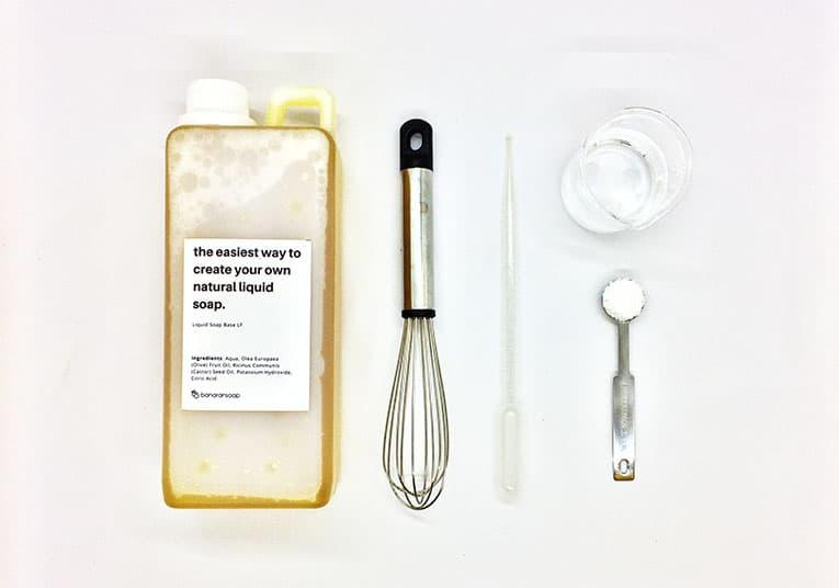bahan pengental sabun garam
