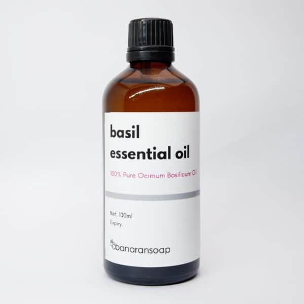 basil essential oil 100ml