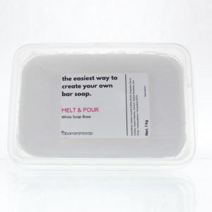 melt and pour white