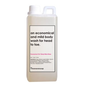 kemasan 3 in 1 body wash ekonomis 1 Liter
